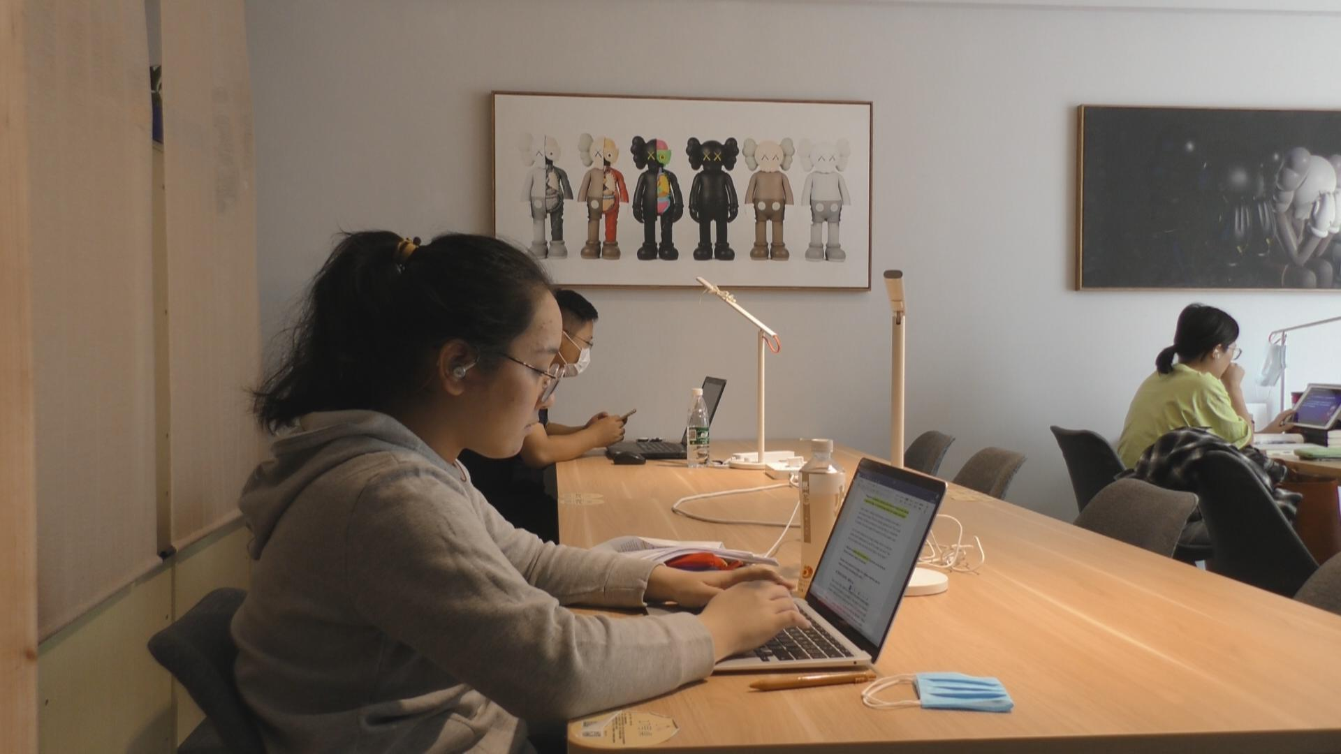 Study room-sharing booms in China