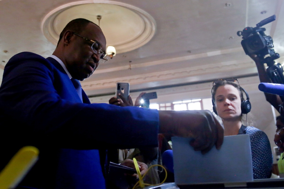 Vote counting underway in Central African Republic