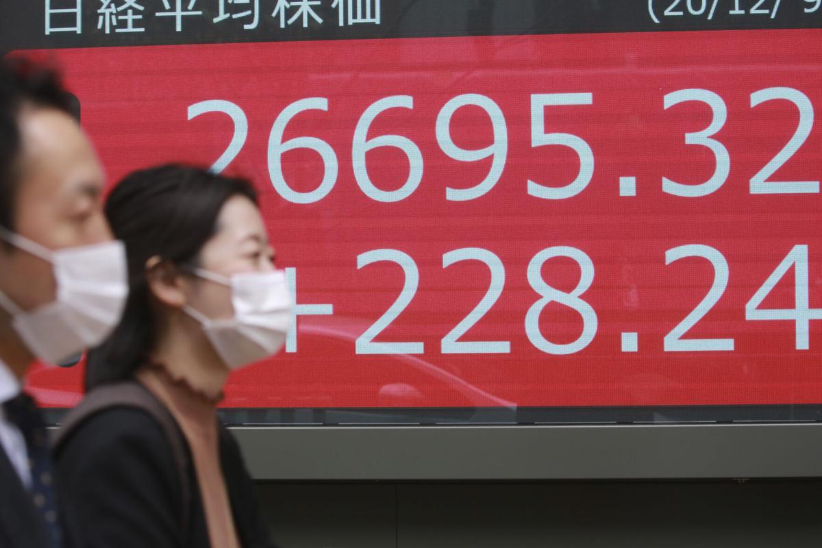 Tokyo stocks open higher on US relief bill