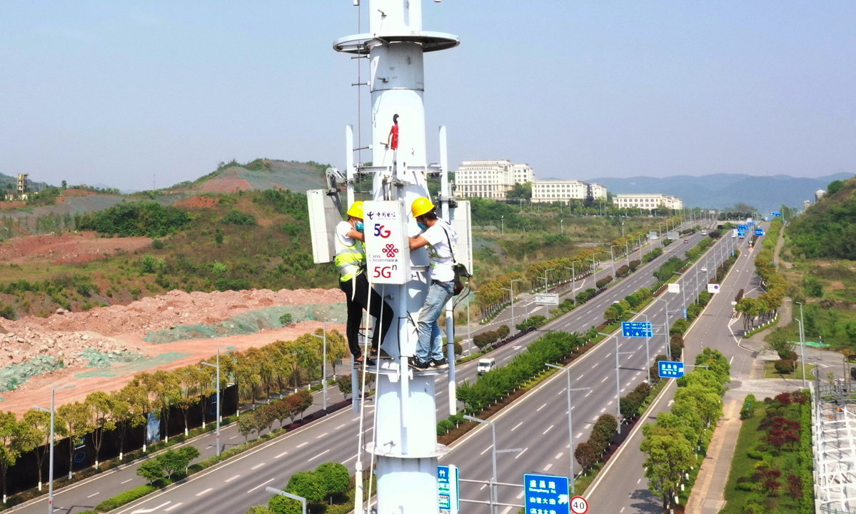 China to add 600,000 5G base stations in 2021