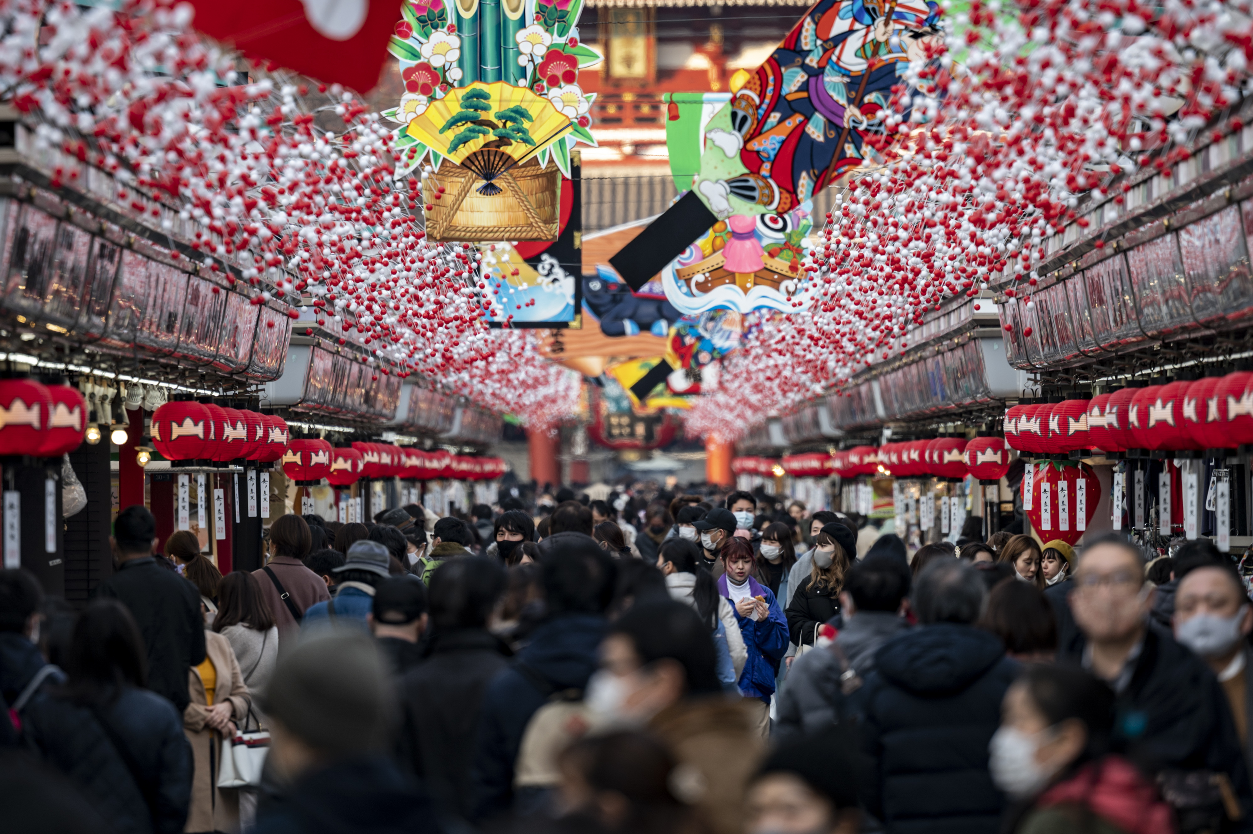 Japan braces for heavy snowfall over year-end, New Year period