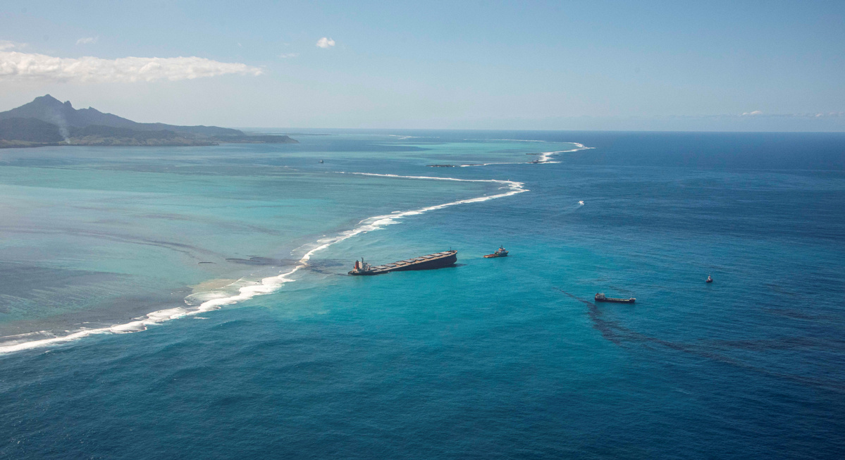 Mauritius in comeback after oil spill