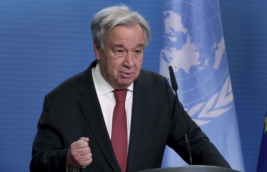 UN chief calls for making 2021 'year of healing' in New Year message