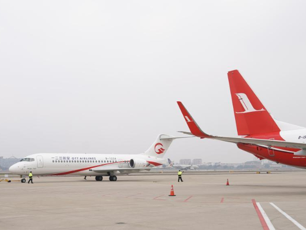 OTT Airlines officially operates ARJ21 jetliner
