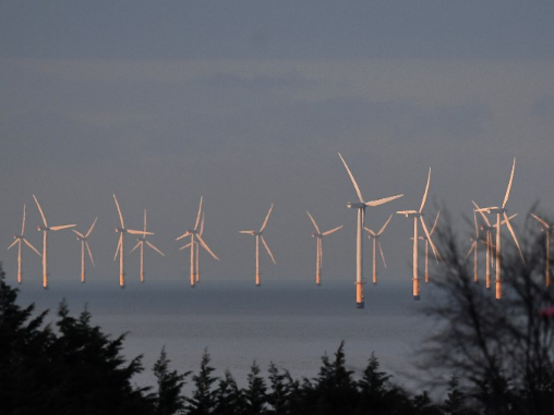 Wind powers more than half of UK electricity for first time