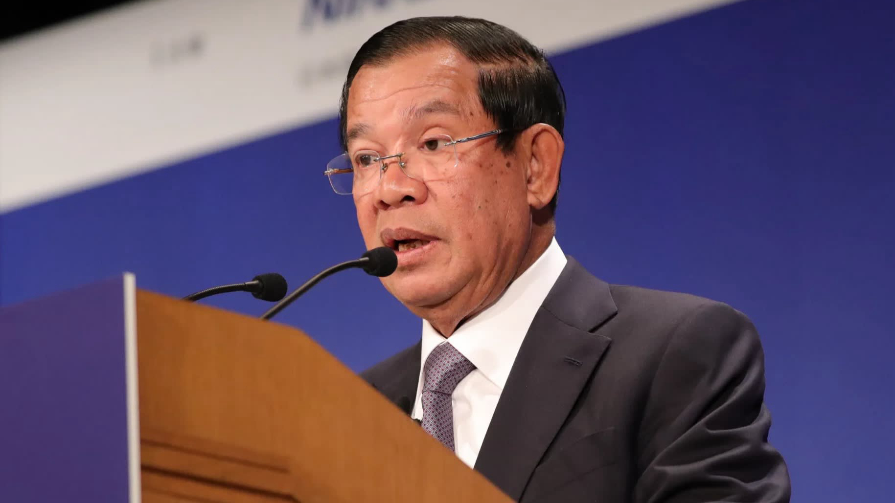 Cambodia's Hun Sen hails extraction of country's 'first drop of oil'