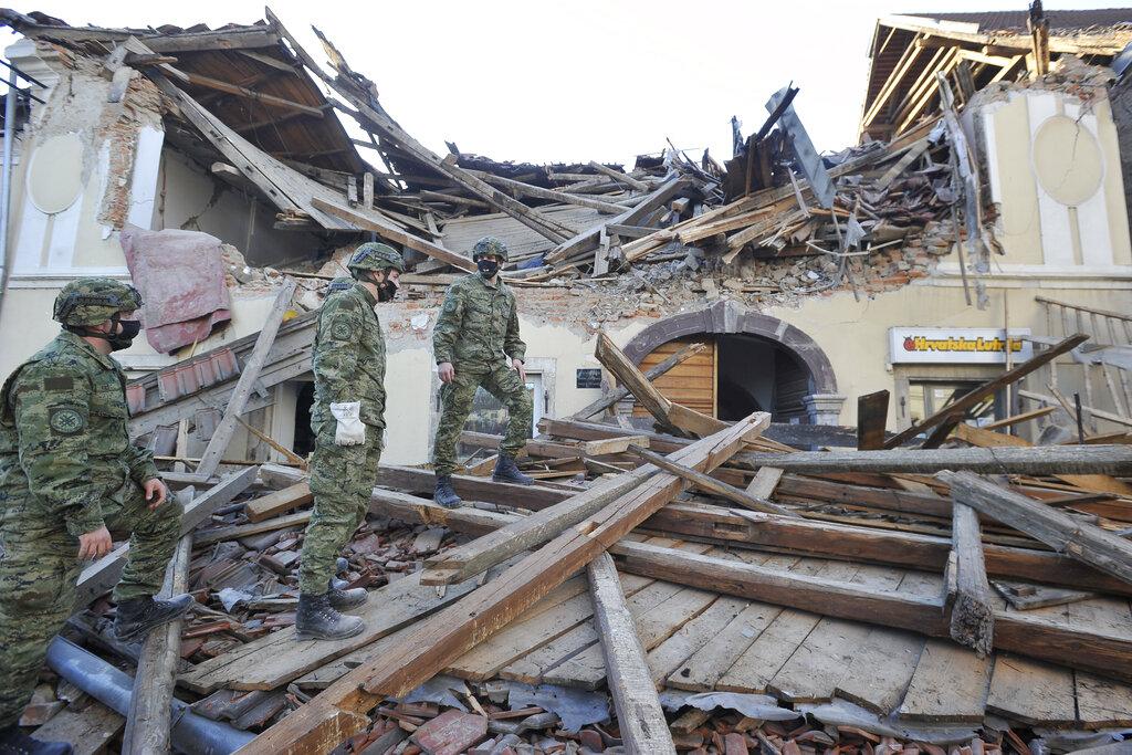Magnitude 6.3 earthquake strikes Croatia; 1 death reported