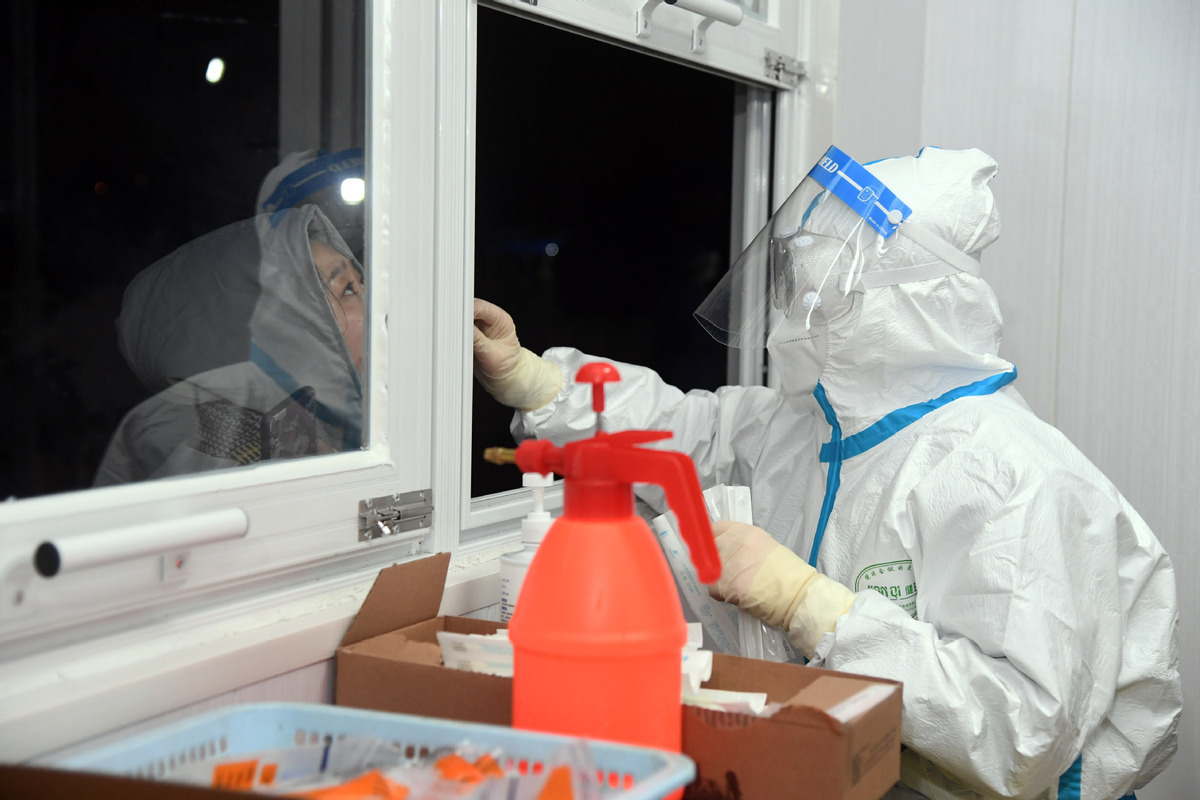 Beijing's Shunyi district steps up its virus prevention and control measures