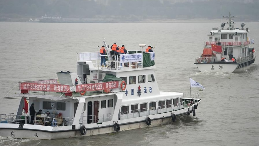 Nearly 7,000 arrested for illegal fishing in Yangtze River