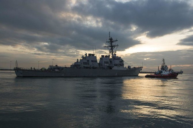China denounces US warships' recent transit in Taiwan Strait