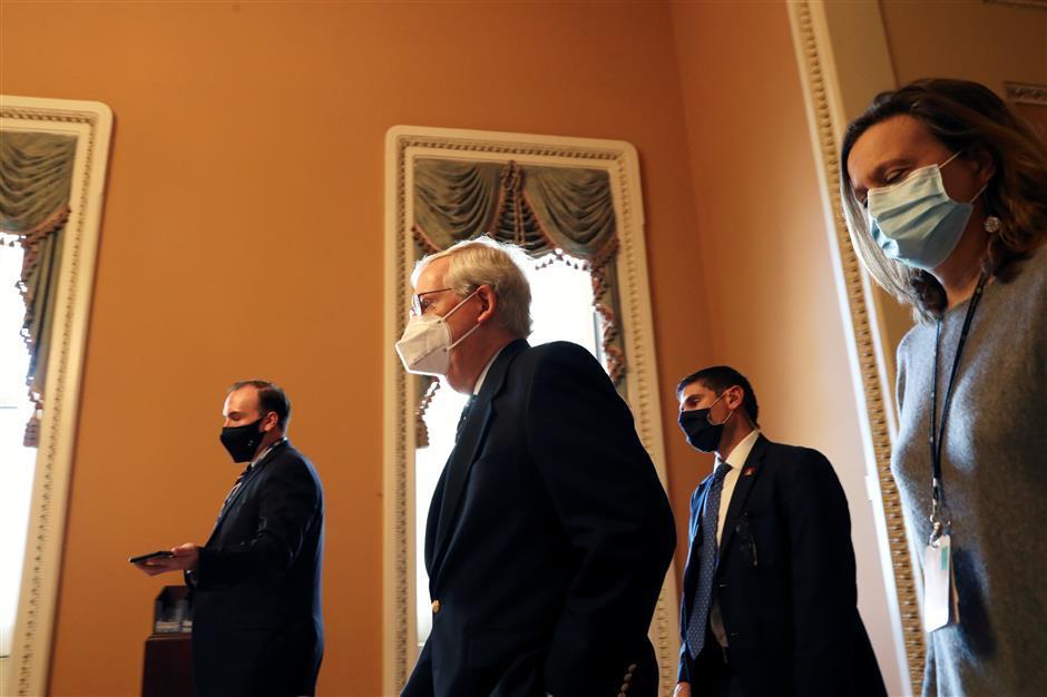GOP blocks Senate vote on US$2,000 aid checks
