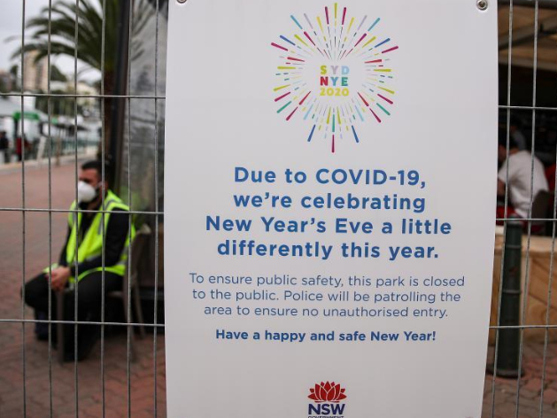 Aussies farewell 2020 under strict COVID-19 conditions