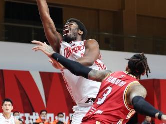 CBA league: Shanxi Loongs vs. Qingdao Eagles