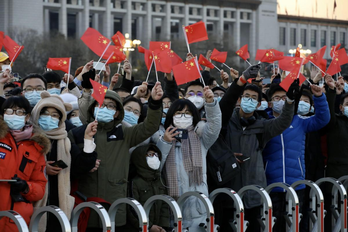 Chinese celebrate New Year despite sporadic COVID-19 outbreaks