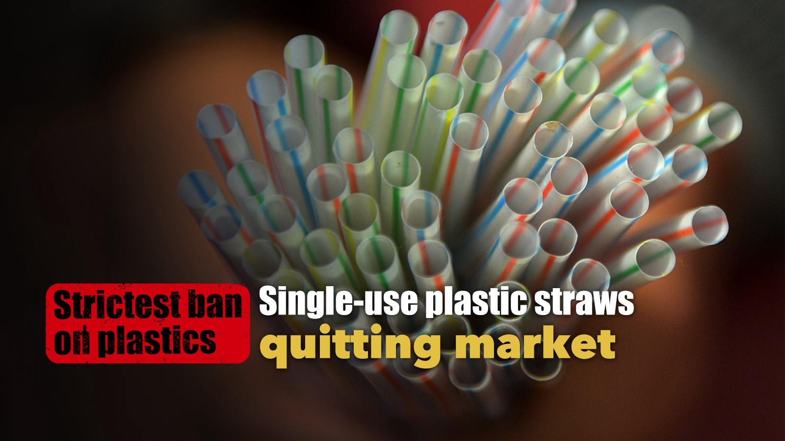 Plastic straws vanish from China as ban kicks in