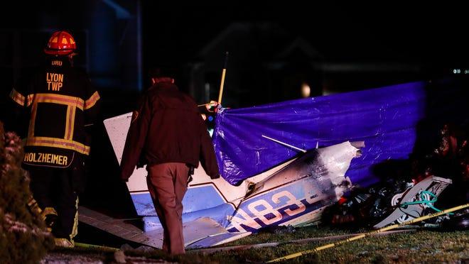 Small plane crashes in US Michigan