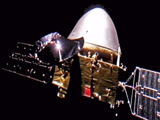 China's Tianwen-1 to orbit Mars next month