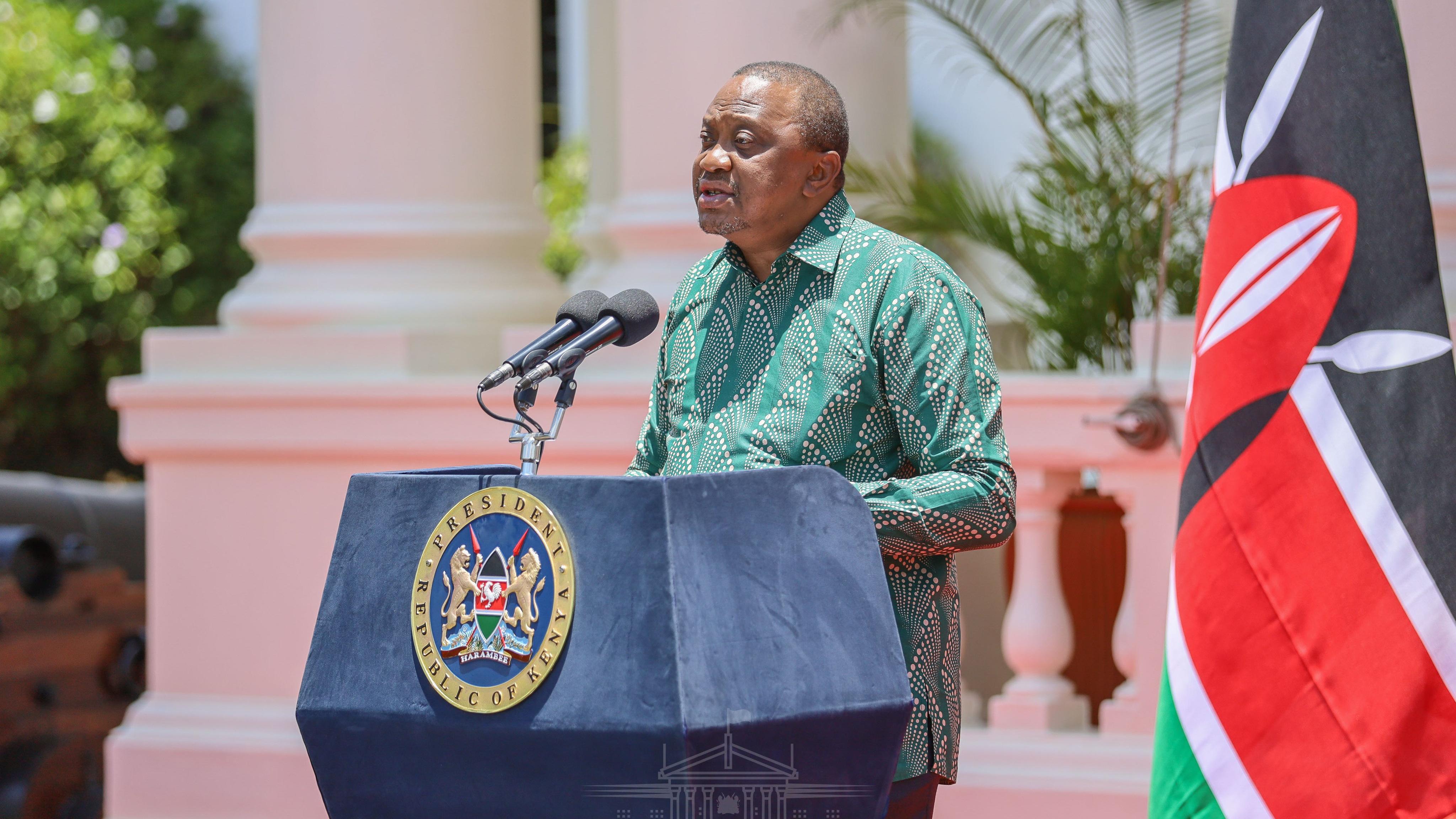 Kenya's President Kenyatta extends curfew: COVID-19