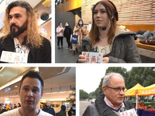 How to summarize 2020 in one word?Foreign friends in Ningbo gave the answers