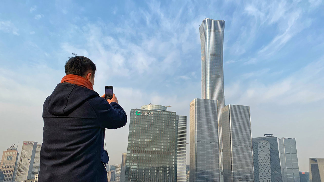 Beijing sees record low PM2.5 density in 2020