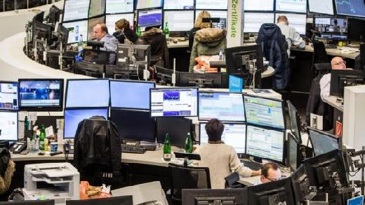 German shares gain 1.25 pct at start of trading on Monday
