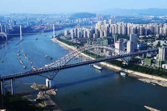 Yangtze River Economic Belt transportation corridor advances to maturity