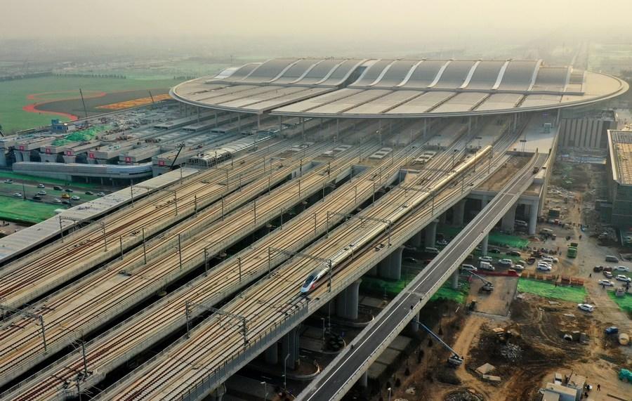 China's railways to grow by 3,700 km in 2021