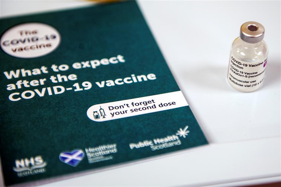 Britain rolls out Oxford/AstraZenecavaccine