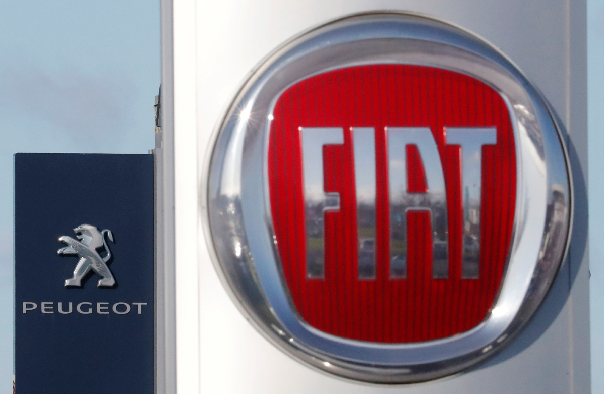 Fiat Chrysler-PSA merger to create world's fourth largest carmaker
