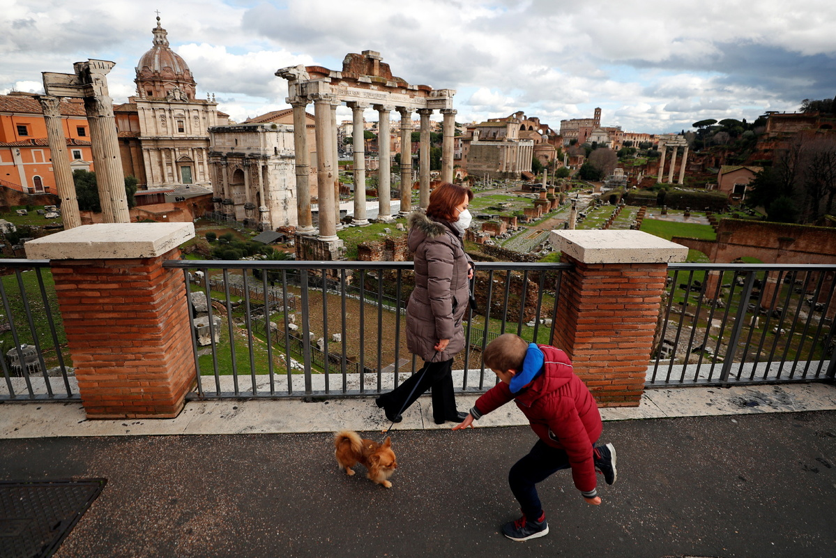 Italy's coronavirus data holding steady, new rules in discussion as lockdown to end