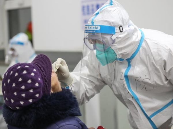Shenyang conducts 2nd round of nucleic acid tests for residents in 3 districts