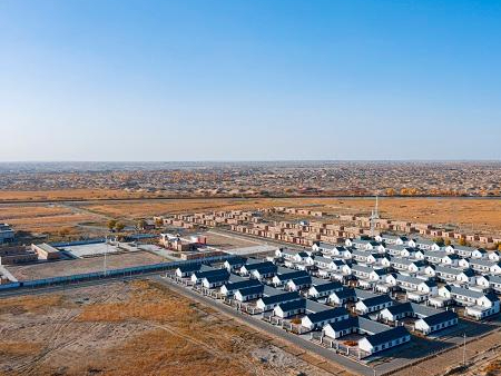 Desert village in NW China's Xinjiang relocated for poverty alleviation, embraces prosperous life