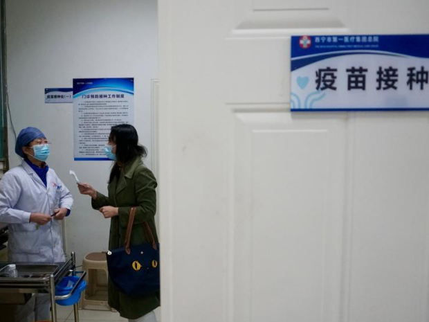 COVID-19 inoculation in Qinghai covers key groups of people including medical workers