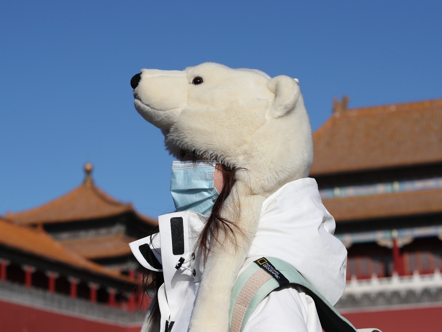 Strong cold wave sweeps Beijing