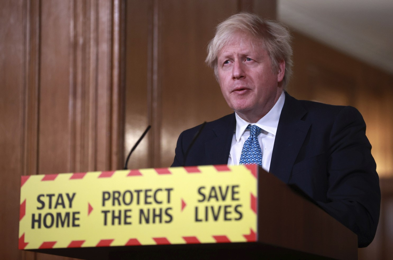 UK leader to use 'every second' to vaccinate the vulnerable