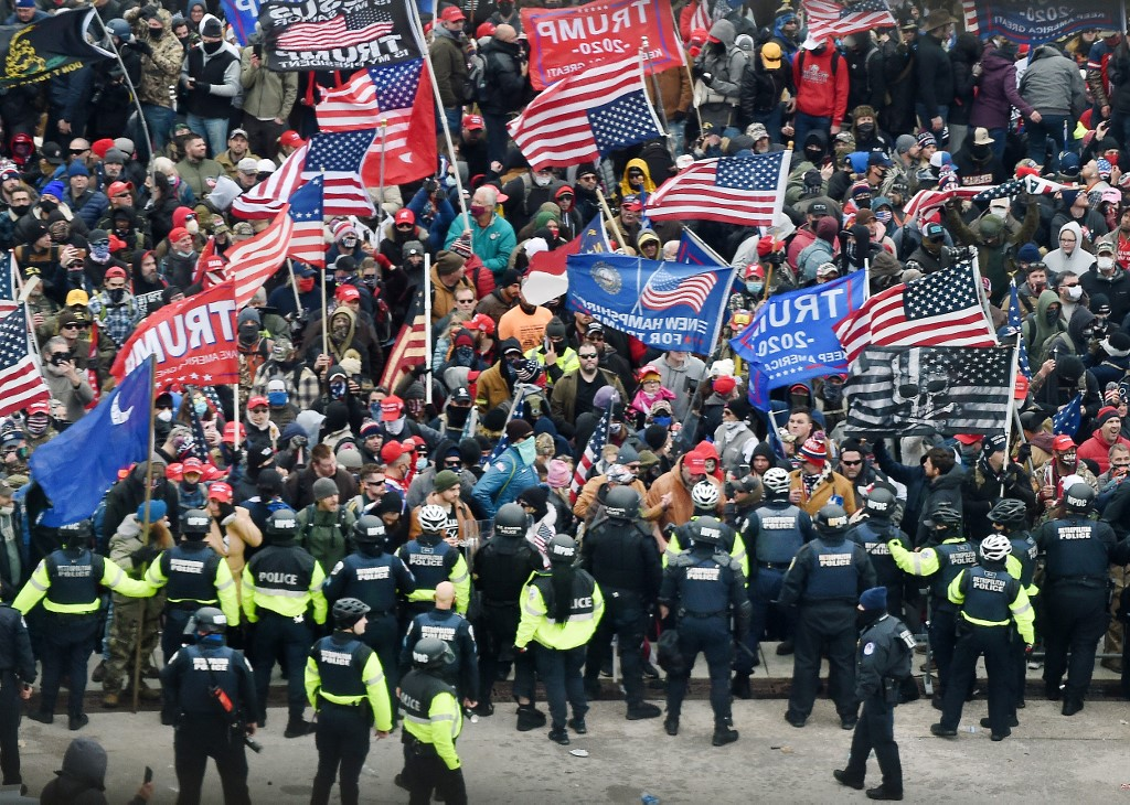 Canadians 'shocked' by violence in US Capitol