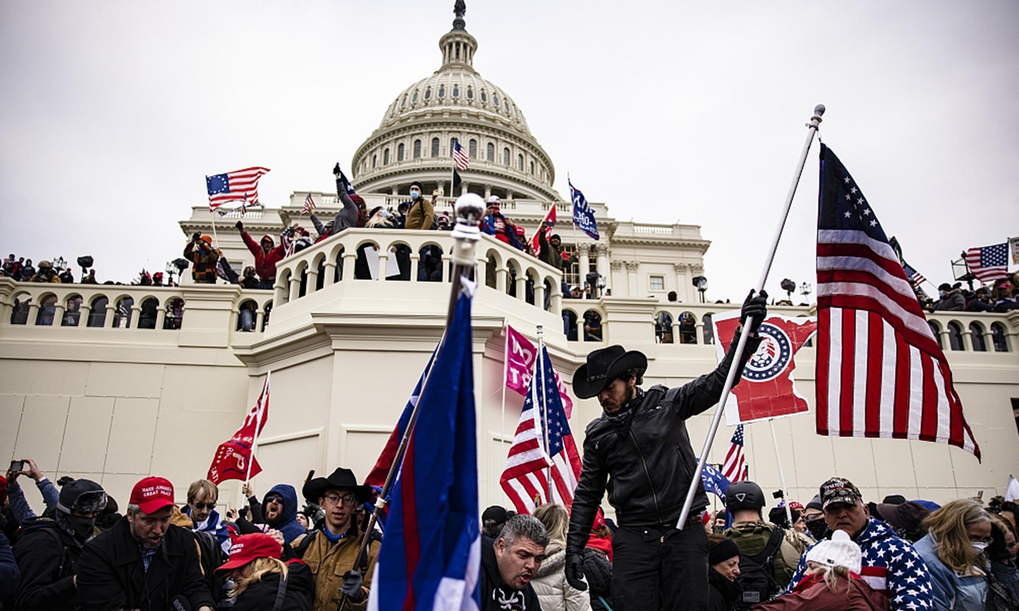 Capital vandals show fragility of US democracy