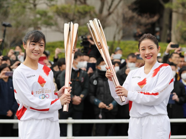 Tokyo Olympics torch exhibition postponed to prevent spread of COVID-19