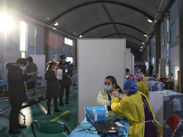 COVID-19 vaccinations underway in Beijing