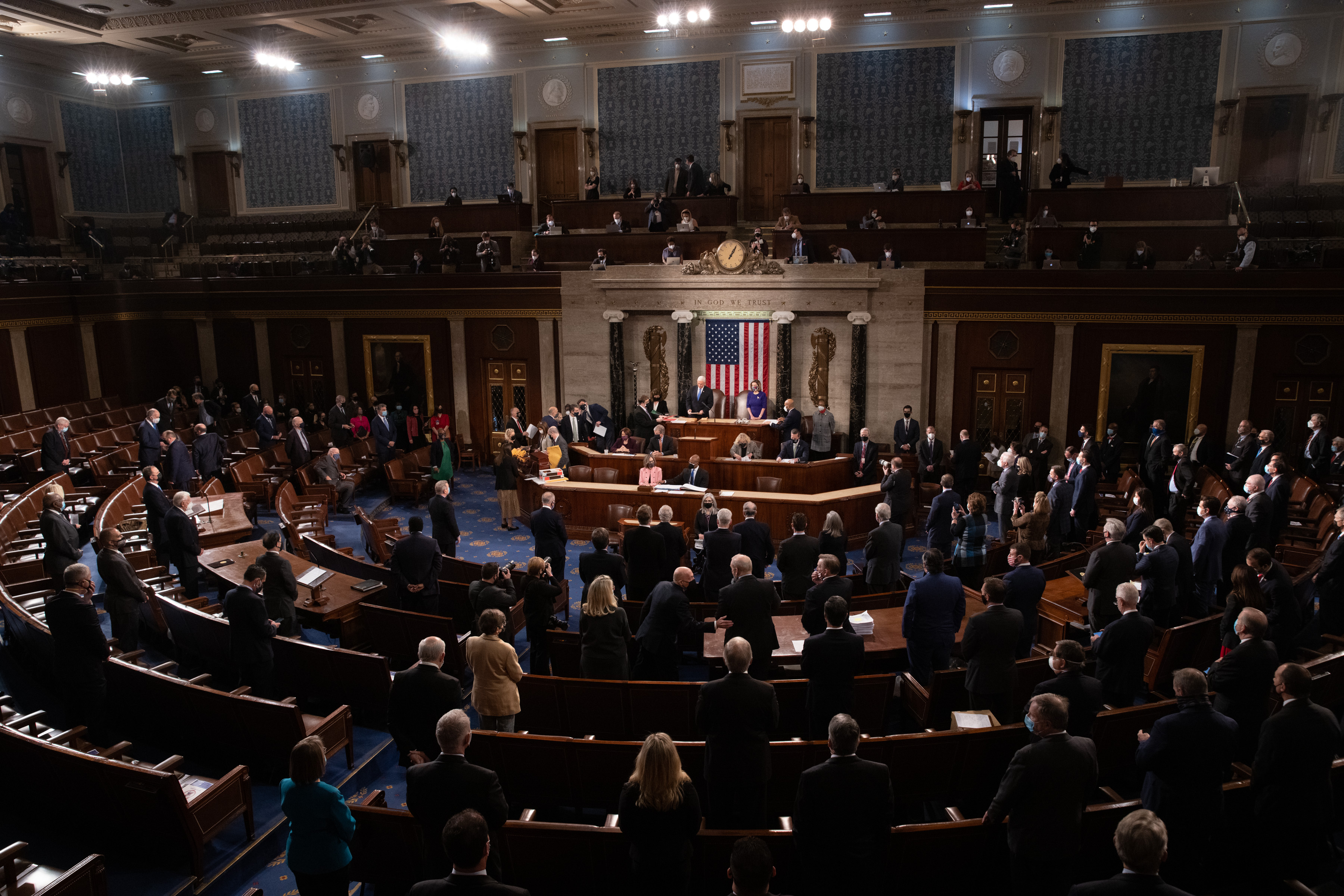 US Congress reconvenes hours after protesters breach Capitol