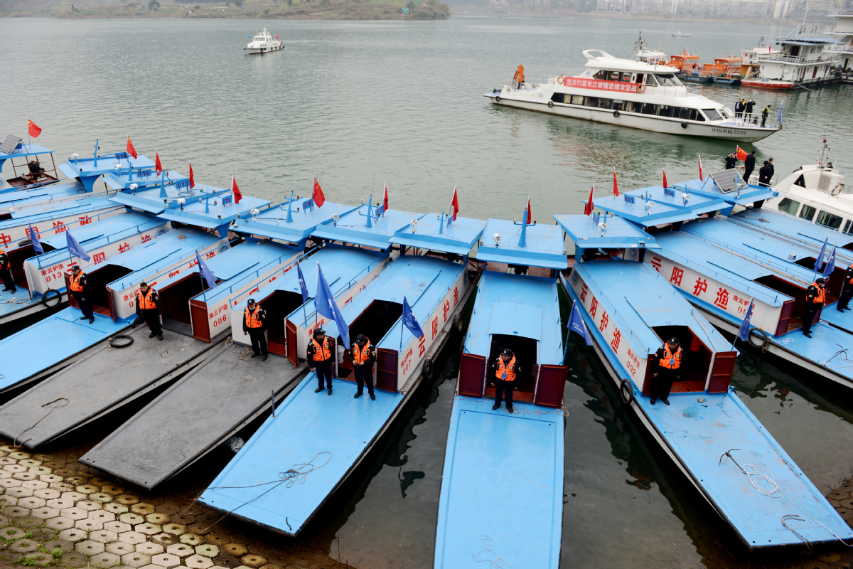 China's Wuhan arrests 110 for illegal fishing along Yangtze River