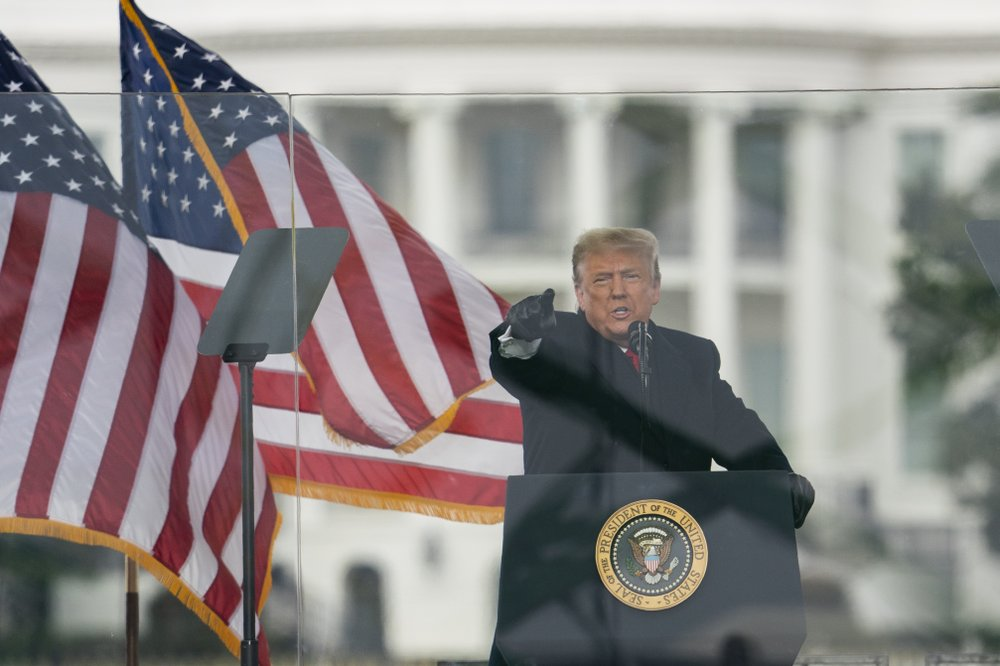Trump pledges orderly transition after Congress certifies Biden's victory