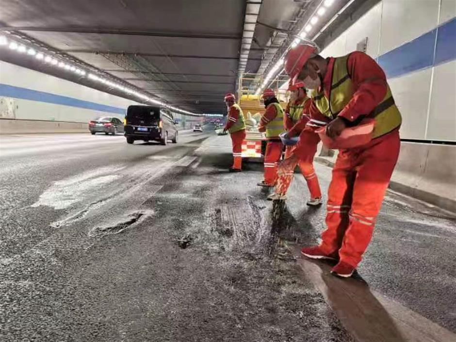 Measures taken to ensure safety on the road
