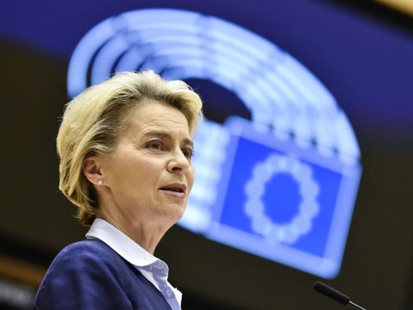 EU's von der Leyen calls for peaceful transition of power in US