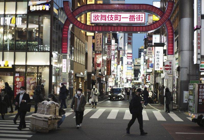 Japan declares virus state of emergency in Tokyo region