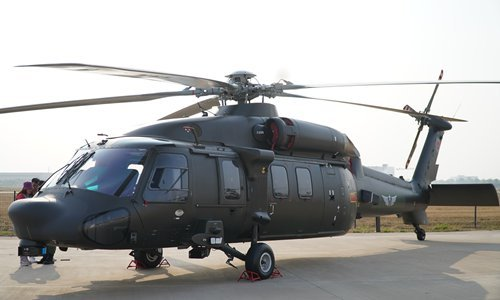 China's Z-20 helicopter variations for anti-submarine warfare, assault spotted