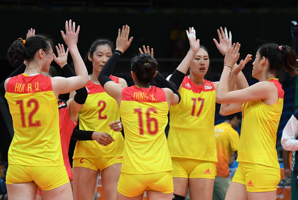 Chinese volleyball stars Zhu Ting, Ding Xia named in FIVB Roster 100 list