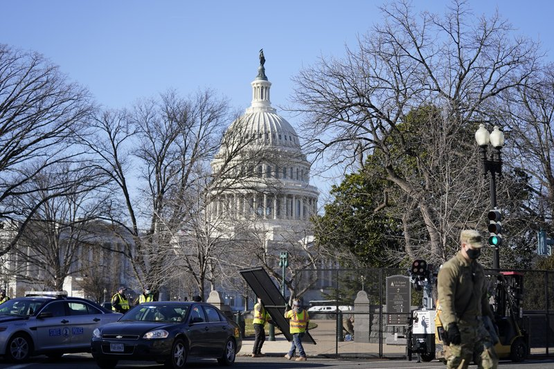 Capitol siege raises security concerns for Biden inaugural