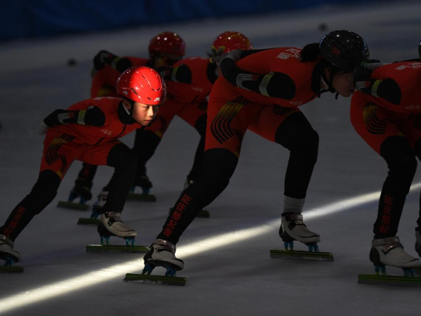 Ice sports right on track in Yanqing, Beijing