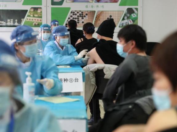 COVID-19 vaccination underway in Beijing